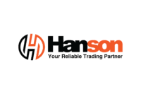 logo hanson background putih