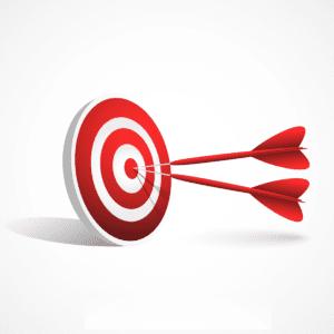 dart tepat sasaran di target