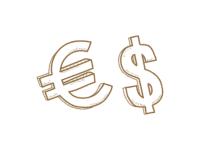 mata uang euro dan us dollar
