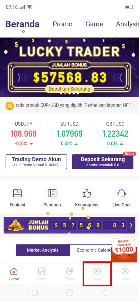 beranda aplikasi trading forex hsb investasi
