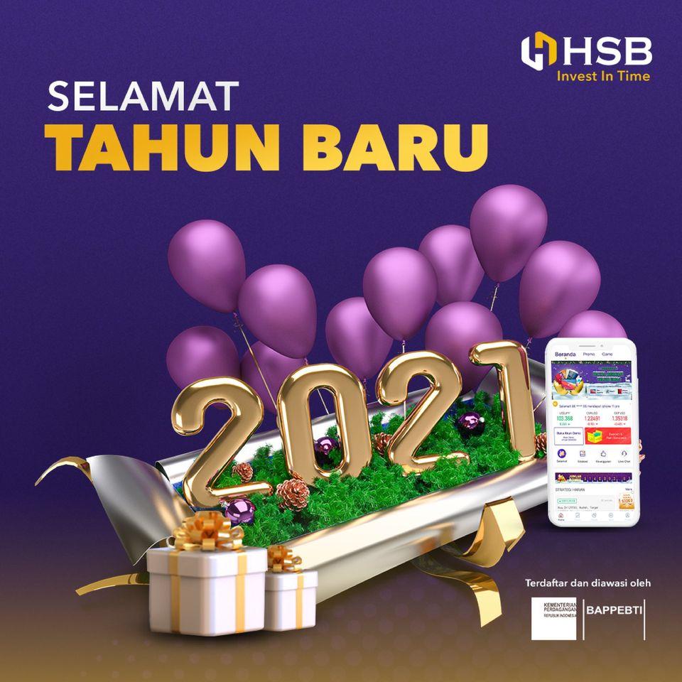 HSB Investasi – Selamat tahun baru 2021!